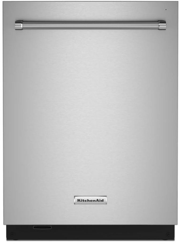"""Product Photo: 24"""" PrintShield Stainless Steel Fully Integrated Dishwasher with FreeFlex Energy Star KDTM704KPS"""